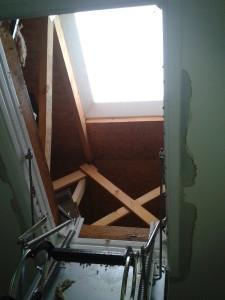 vchod na střechu 2